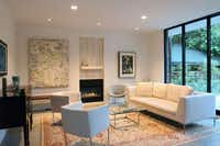 Living room in Greenway Parks tour stop