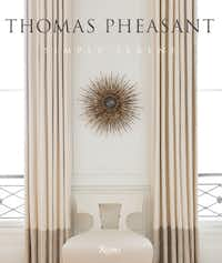 His 2013 coffee table book published by Rizzoli shows his clients' interiors of soothing, soft-hued rooms.