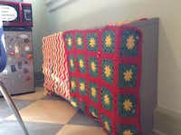 Yarn-bombing projects added ThursdayMelody Townsel