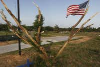 The Hernandez family's new Habitat for Humanity home will be built on the same Ranchview Drive site as the house leveled last month. Of the 110 houses hit by tornadoes in Granbury, 60 were Habitat homes.