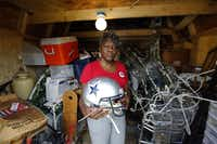 """The loss of Gwen Edwards' home in the Lancaster tornado on April 3, 2012, was just one of a series of tragedies she's had to endure. Her advice to victims of more recent disasters, is not to dwell on anger. """"Anger will make you sick,"""" she said."""