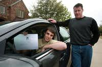Plano resident Steve Eppig and his son Erik recently drove to Mount Pleasant for Erik to take a driving test. The law requires those under 18 to take a road test to get a license.