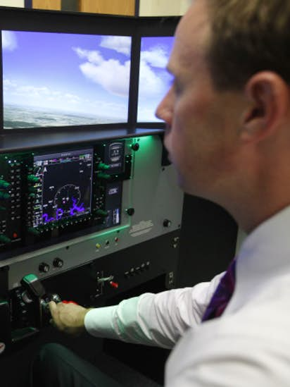 McKinney ISD gets $30,000 flight simulator to help aviation program