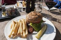 The All Natural Beef Burger at 8100 Mountainside Bar and Grill in Beaver Creek Resort never spends time in a freezer.