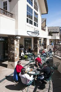 Skip the dry burgers served at the top of the mountains and check out base-area dining such as the Larkspur Restaurant in the Golden Peak base area of Vail Ski Resort.
