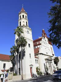 St. Augustine has many examples of Spanish Colonial architecture.