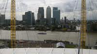 View from the top of the O2 Arena.