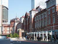 Tokyo Station is celebrating its centenary with the restoration of its original European-influenced exterior, which was heavily damaged in World War II.