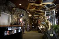 Inside the Weta Cave.