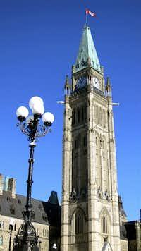 Parliament Hill in Ottawa's historic capital.