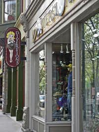 Indulge in some retail therapy in the eclectic shops along Front Street in downtown Traverse City.