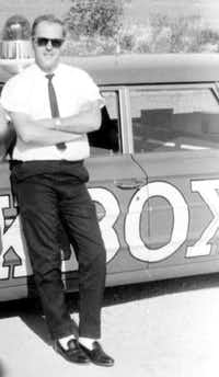 Ron Jenkins worked for KBOX-AM radio under the name Ron McAlister. He was part of the news team that reported on the President John F. Kennedy's assassination.(Photo courtesy <TypographyTag12>Jack Schell</TypographyTag12>)
