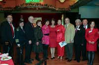 OCA-DFW celebrated Lunar New Year at Maxim's in Richardson.( Jarvis Jacobs )