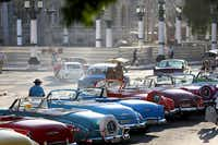 Vintage American automobiles are a common sight on the streets of Havana.( Joe Raedle  -  Getty Images )