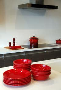 A kitchen from the Erea Kitchen collection at Ornare