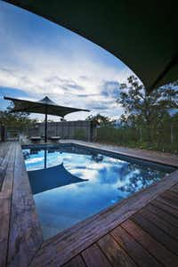 Cicada Lodge in Nitmiluk National Park offers champagne at check-in, a swimming pool, gourmet food and more.( Peter Eve  -  Special Contributor )
