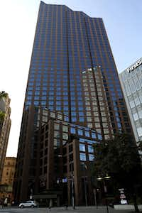 At 49 stories, 1700 Pacific is the tallest of the skyscrapers on the market.