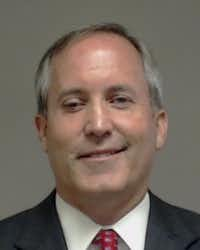 Mug shot of Attorney General Ken Paxton taken at the Collin County Jail on Aug. 3, 2015