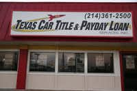 The federal Consumer Financial Protection Bureau is proposing new rules to curb payday lending abuses. Dallas Morning News/ file