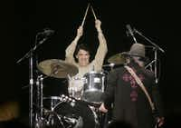 Rick Perry briefly sat in on drums with ZZ Top during a 2005 presidential inaugural event in Washington, D.C.