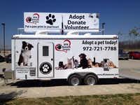 The new Mobile Adoption Trailer was showcased at Saturday's Pet Palooza.(Staff photo by DEBORAH FLECK - DMN)