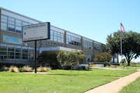 Pinkston High School opened in 1964. Here it is in 2013. (Dallas ISD photo)