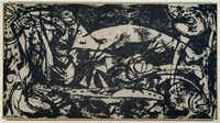 Anderson is spearheading  the upcoming Jackson Pollock exhibition, which is sponsored by the DMA — not borrowed from another institution. Pollock's  Number 14, 1951  is shown above.(Pollock-Krasner Foundation - Krasner Foundation / ARS, NY )
