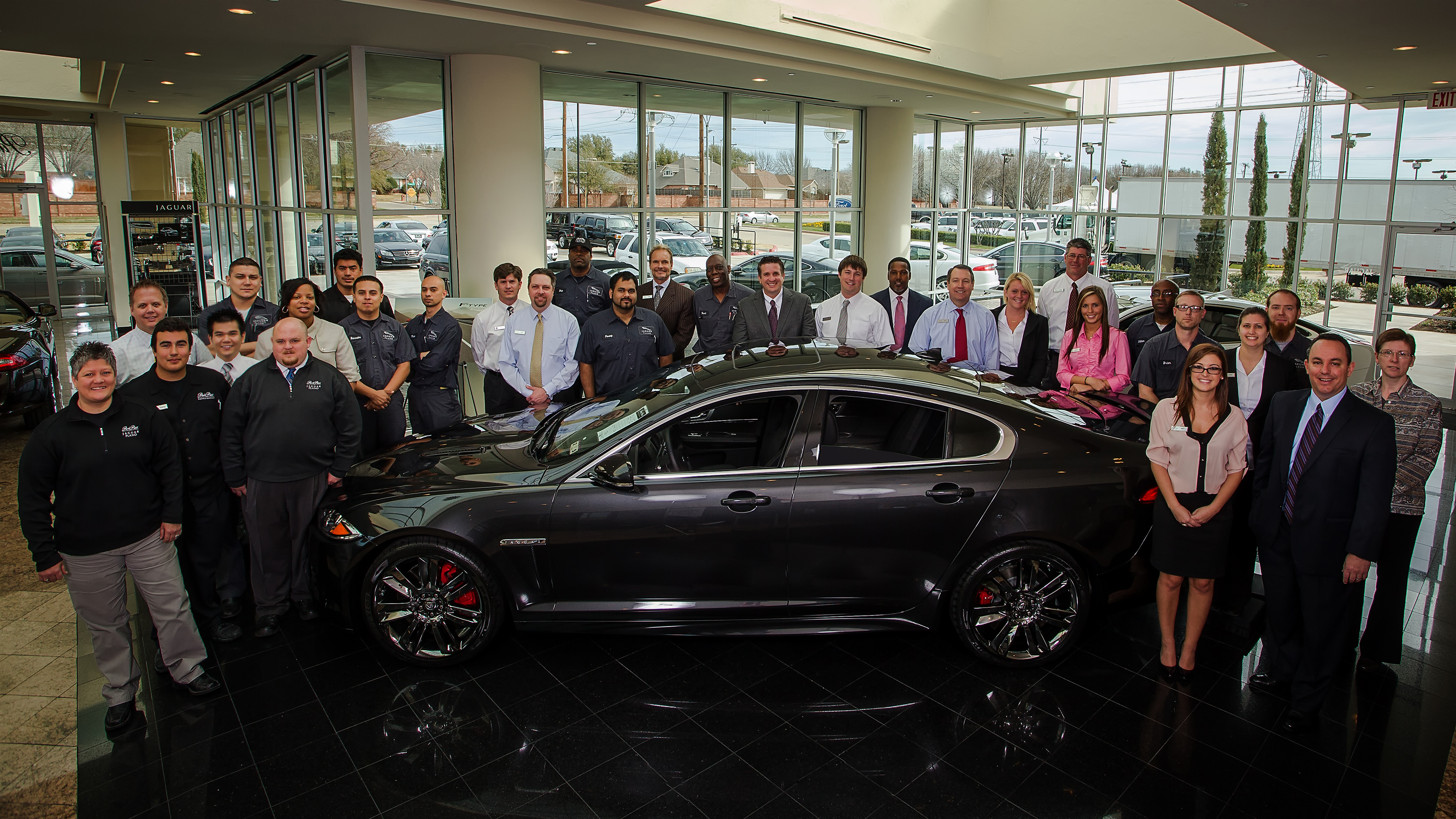 Delightful Park Place Jaguar Wins Second Pride Of Jaguar Award | Business | Dallas News