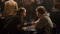 """Rooney Mara, left, and Jesse Eisenberg are shown in a scene from """"The Social Network."""""""