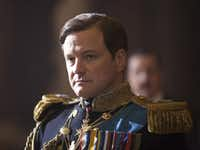 """Colin Firth portrays King George VI in """"The King's Speech."""""""