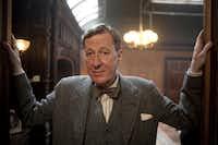 "Geoffrey Rush portrays Lionel Logue in ""The King's Speech."""