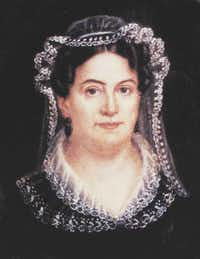RACHEL DONELSON JACKSON (1767-1828). Miniature by Louise C. Strobel. She was the first presidential candidate's wife to be smeared by ugly campaign tactics, but not the last. - brittanica.com