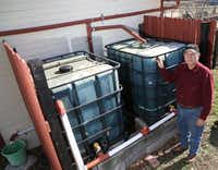 Master gardener Brad Ackerman teaches consumers how to make and use low-cost rain barrels.