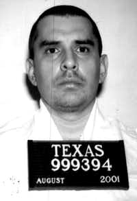 George Rivas on death row.
