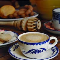 In cold weather, the Westin Riverwalk offers Mexican-style hot chocolate during its afternoon tea service, known as La Merienda.