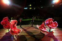 The annual Fiesta Noche del Rio is a spectacular of music and dance from Mexico, Spain, Argentina and Texas.