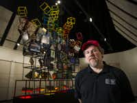 Joe Santulli is one of the founders of the National Videogame Museum coming to Frisco. (Ashley Landis/The Dallas Morning News)