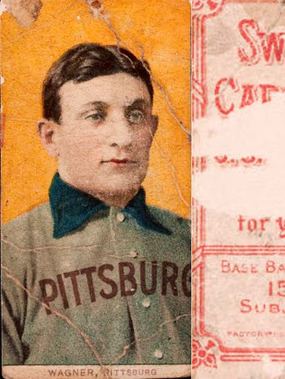 Rare Honus Wagner Baseball Card Donated To Nuns Sells For 262000
