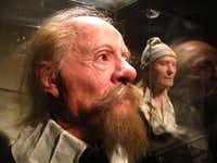 Forensic experts recreated the faces of some of the Vasa's crew at the Vasa Museum in Stockholm, Sweden.