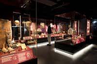 Items recovered from the wreck of the Mary Rose are exhibited in the Mary Rose Museum at Portsmouth's Historic Dockyard in Portsmouth, England. The museum opens 30 years after the hull of Mary Rose was raised from the Solent in 1982 thanks to funding from the (HLF) Heritage Lottery Fund.