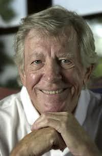 "Edwin ""Bud"" Shrake in 2001 in Austin( Ralph Barrera  -  AP )"