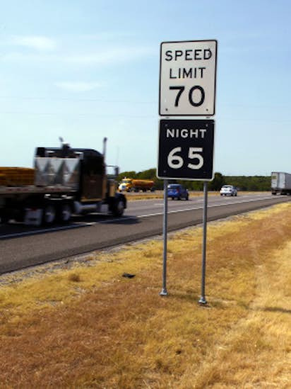 speed limits rise under new texas traffic laws transportation