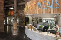 At Simply Fit Meals patrons can buy just a meal or snack at a time.