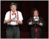 L-r: Clowns Monday and Slappy will perform as part of the Showtime Saturdays series.