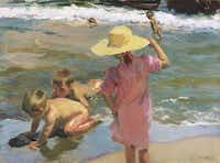 Joaqu?n Sorolla y Bastida (Spanish, 1863-1923), The Young Amphibians, 1903, oil on canvas. Philadelphia Museum of Art: Purchased with the W.P. Wilstach Fund, 1904, 1904-1-55
