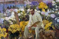 Joaqu?n Sorolla y Bastida (Spanish, 1863-1923), Portrait of Louis Comfort Tiffany, 1911, oil on canvas. The Hispanic Society of America, A3182
