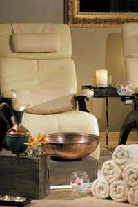 After your massage and facial, finish the Houston pampering treatment with a pedicure at the Hotel ZaZa Houston's spa.