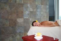 Serenity is the most important element at Lakeway Resort's San Saba Spa.