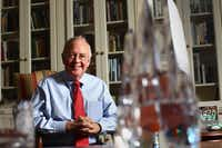 Ken Starr in his office at Baylor on Dec. 7, 2010. (File Photo/The Dallas Morning News)