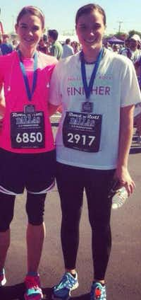 Stephanie Calams and her sister Sarah ran often together in local reaces such as the Rock 'n' Roll Marathon, White Rock Marathon and the Cowtown Marathon. Stephanie's mother, D'Ann said her daughter dedicated herself fully to whatever she did.